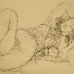 Marcel Gromaire Reclining Figure