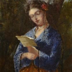 Attrib Narcisse Diaz de la Pena The Letter