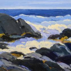 Keith Oehmig Early Morning, Lobster Cove