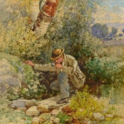 Albert Fitch Bellows Traveler's Refreshment