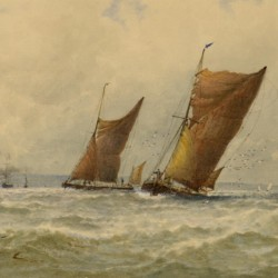 George Stanfield Walters At Sea