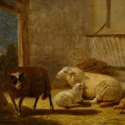 Jacob van Dieghem In the Stable