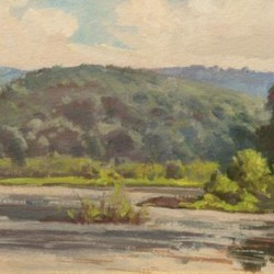Morning on the River - Corey