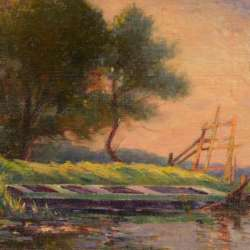 Punt on the River - Dennis