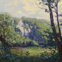 Shirley Gordon Barrick Along the River