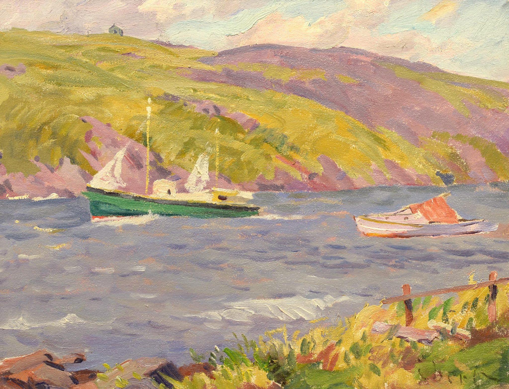 Charles Ebert Monhegan Harbor