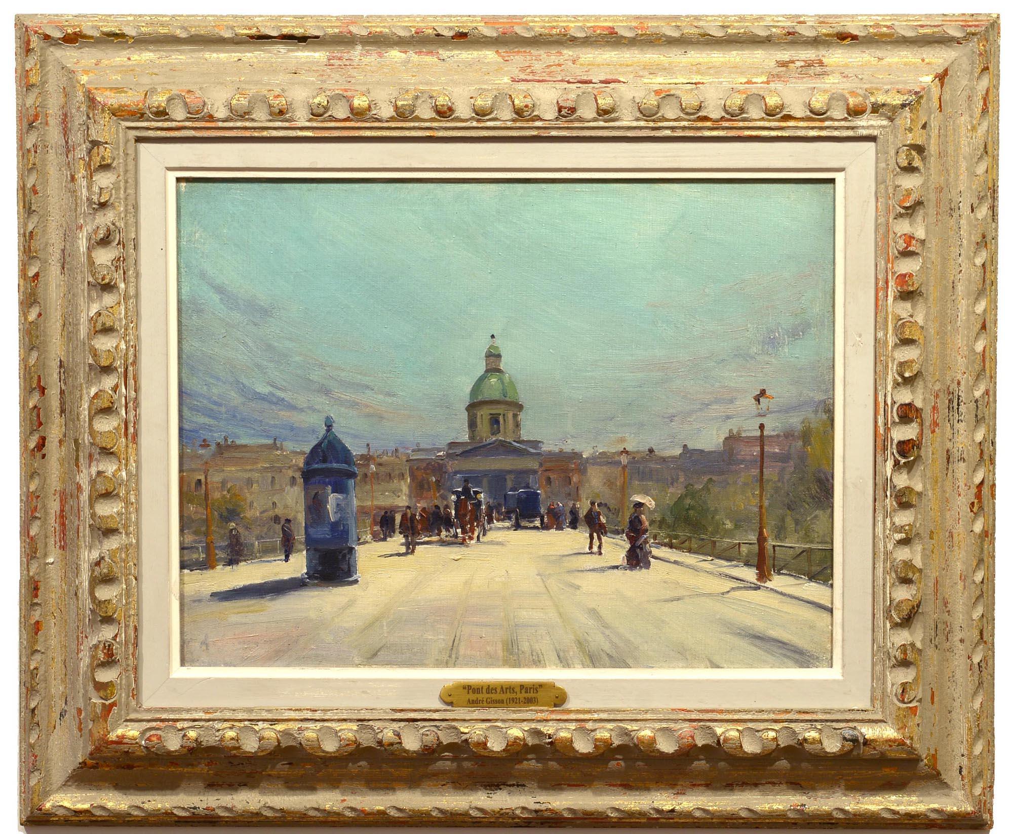 Andre Gisson Pont Des Arts framed