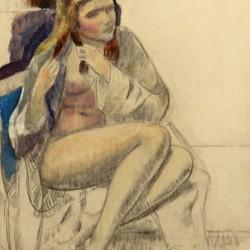 Leon Kroll Seated Nude