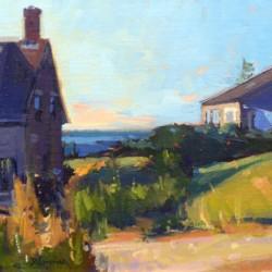 David Lussier Monhegan Village