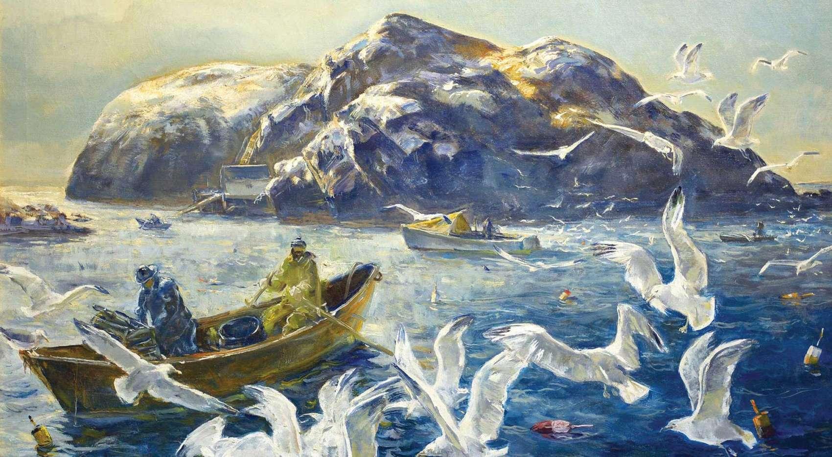 Andrew Winter Morning Haul off Manana