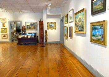 Wiscasset Bay Gallery interior