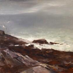 John Fulton Folinsbee Rocks and Surf