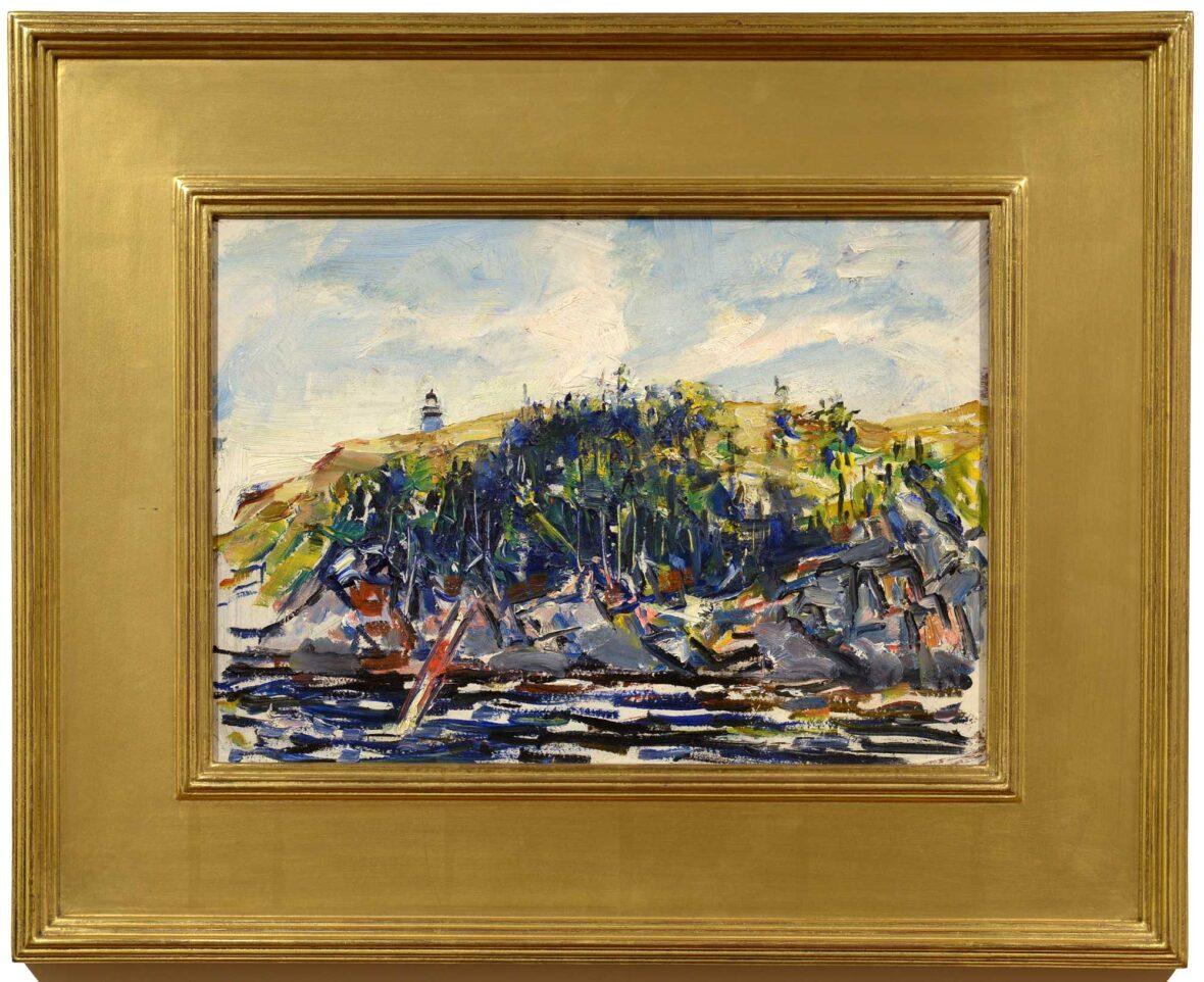 John Fulton Folinsbee Seguin framed
