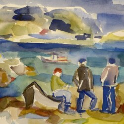 Yolanda Fusco Fishermen, Fish Beach