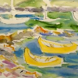 Yolanda Fusco Yellow Dories