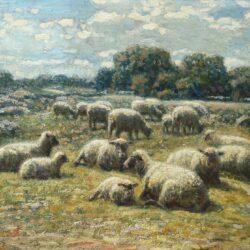 George Arthur Hays Sunlit Pasture, 1911