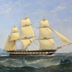 William Adolphus Knell Arctic Exploration, 1850