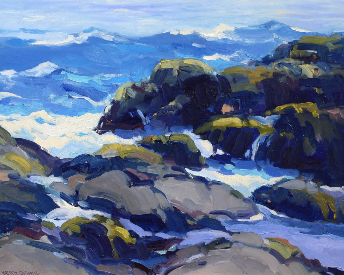 Keith Oehmig Sparkling Seas