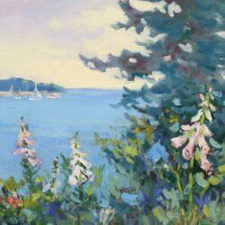 Keith Oehmig Summer Garden, Potts Point