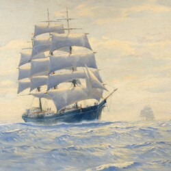 Charles Rosner Misty Morning on the High Seas