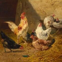 Henry Schouten In the Barnyard