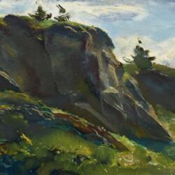 Andrew Winter Monhegan Midsummer Green